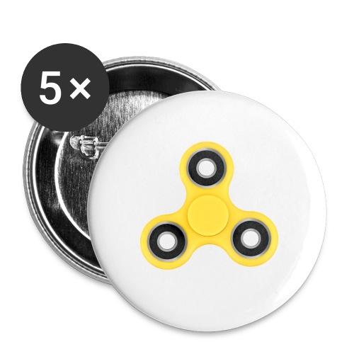 Hand Spinner - Lot de 5 petits badges (25 mm)