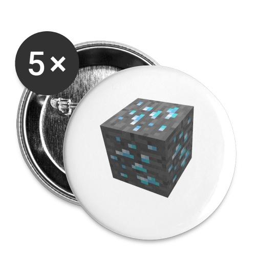 BLOCK DE DIAMANT MINECRAFT - Badge petit 25 mm
