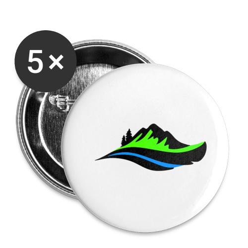 Modern Hoodie Unisex - Små knappar 25 mm (5-pack)