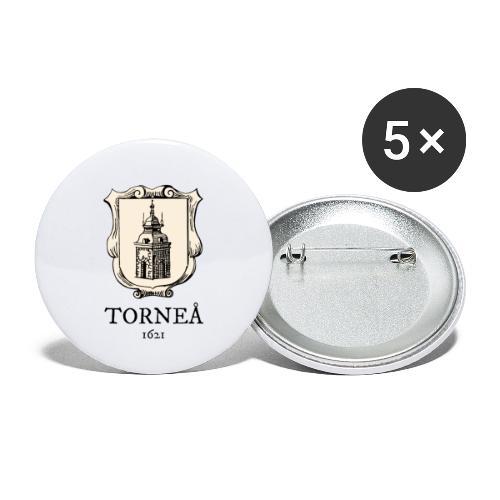Torneå 1621 - Rintamerkit pienet 25 mm (5kpl pakkauksessa)