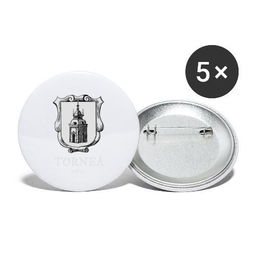 Torneå 1621 vaalea - Rintamerkit pienet 25 mm (5kpl pakkauksessa)