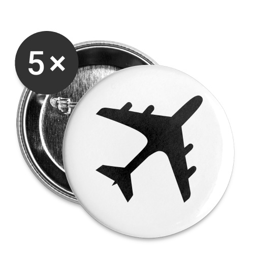 GoldenWings.tv - Buttons small 1''/25 mm (5-pack)