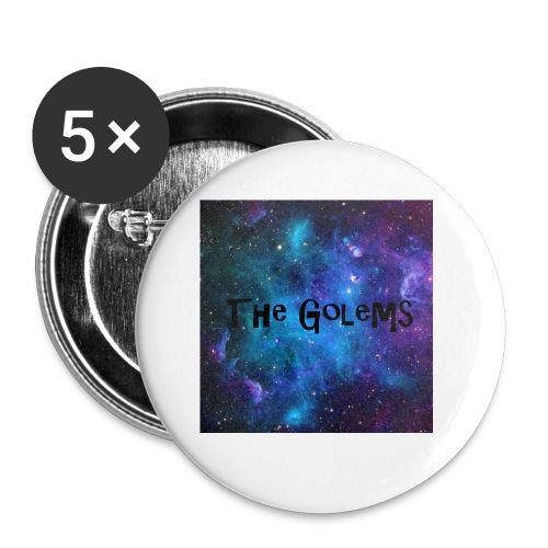 Profile Pic - Buttons small 1''/25 mm (5-pack)