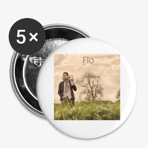 FLO - Moi, je dis - Badge petit 25 mm