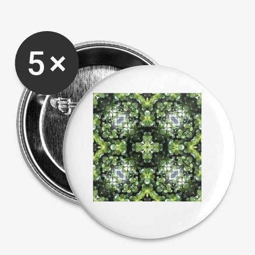 MOTIF L T4 Plt grasse - Lot de 5 petits badges (25 mm)