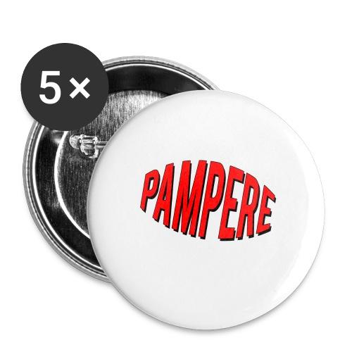 pampere - Przypinka mała 25 mm (pakiet 5 szt.)