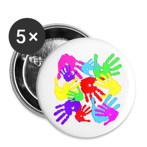 pastrocchio2 - Confezione da 5 spille piccole (25 mm)