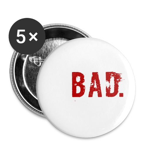 Swooping is Bad Design - Buttons small 1''/25 mm (5-pack)