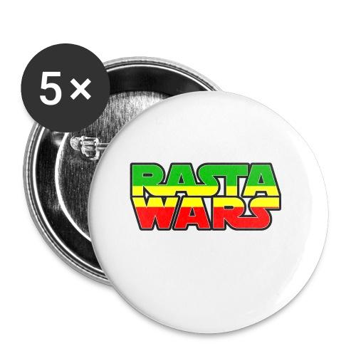 RASTA WARS KOUALIS - Lot de 5 petits badges (25 mm)