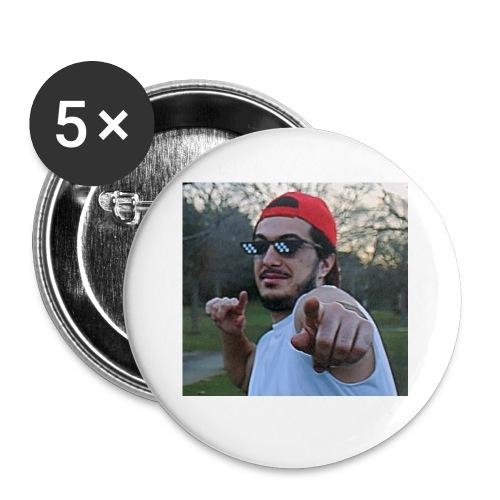 Lasaña13 señalandote - Paquete de 5 chapas pequeñas (25 mm)
