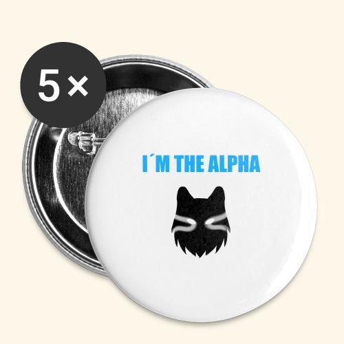 im the alpha - Rintamerkit pienet 25 mm (5kpl pakkauksessa)