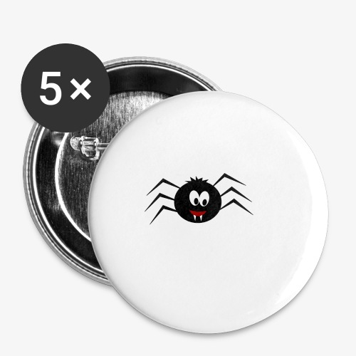 Little Spider - Buttons small 1''/25 mm (5-pack)