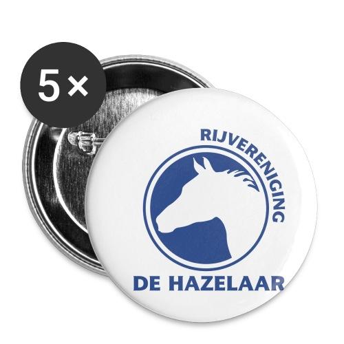 LgHazelaarPantoneReflexBl - Buttons klein 25 mm (5-pack)