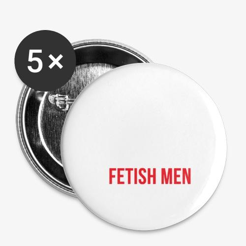 CFM Big Logo - Buttons/Badges lille, 25 mm (5-pack)