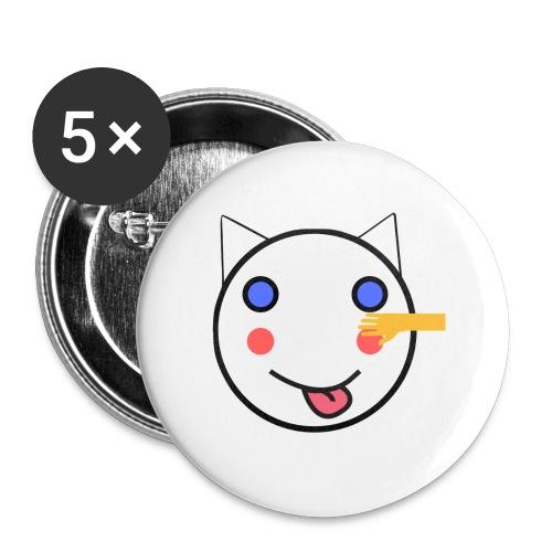 Alf Cat With Friend | Alf Da Cat - Buttons small 1''/25 mm (5-pack)