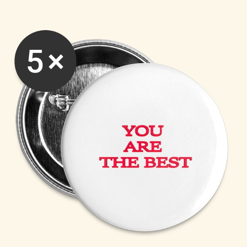 best 717611 960 720 - Buttons/Badges lille, 25 mm (5-pack)