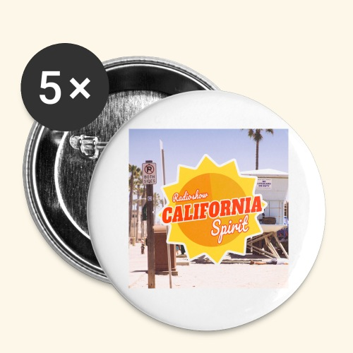 Los Angeles - Badge petit 25 mm