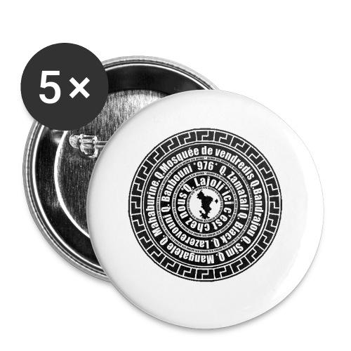 WENKA 4 - Lot de 5 petits badges (25 mm)