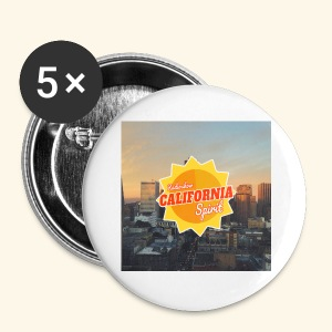 California Spirit City - Badge petit 25 mm