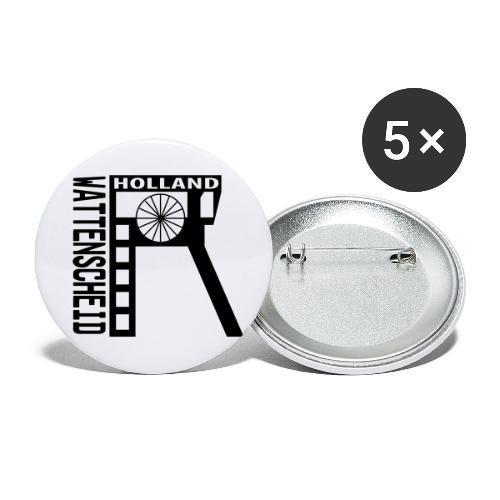 Zeche Holland (Wattenscheid) - Buttons klein 25 mm (5er Pack)