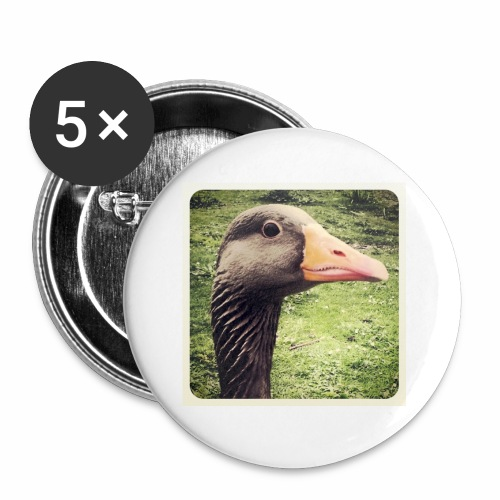 Original Artist design * Coin Coin - Buttons small 1''/25 mm (5-pack)