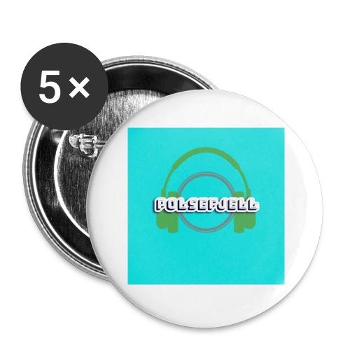 PolseFjell merch - Liten pin 25 mm