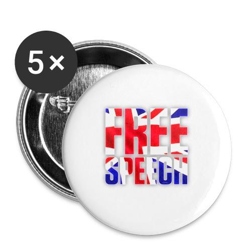 Free Speech UK Alt.1 - Buttons small 25 mm