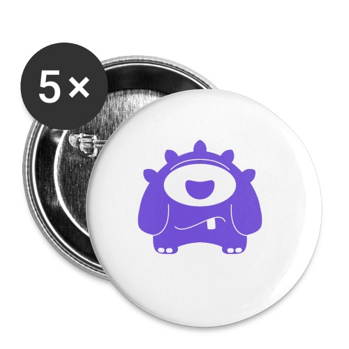 Main character design from the smashET game - Buttons small 25 mm
