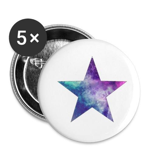 estrella png by ladyany1 d5zcsi2 - Paquete de 5 chapas pequeñas (25 mm)