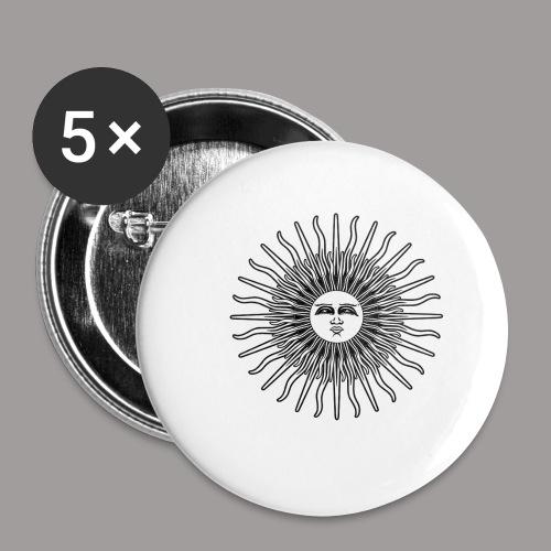 FOLK HORROR REVIVAL Black on white - Buttons small 1''/25 mm (5-pack)