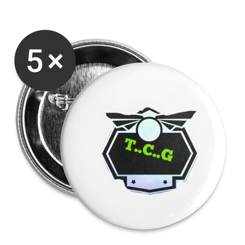 Cool gamer logo - Buttons small 1''/25 mm (5-pack)