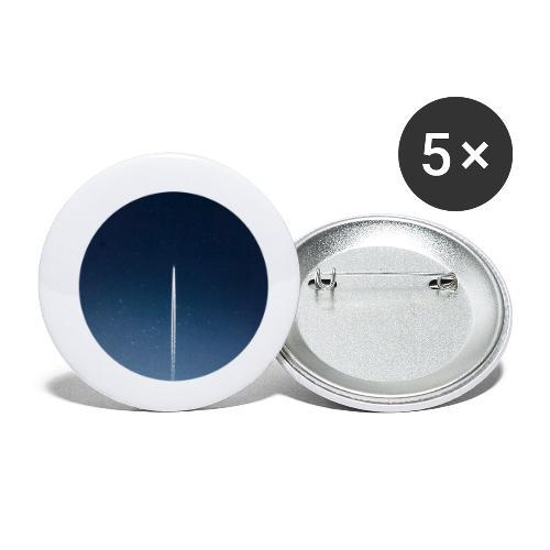spaceflight - Buttons klein 25 mm (5er Pack)