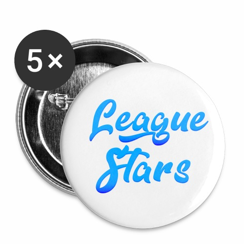 LeagueStars - Buttons klein 25 mm (5-pack)
