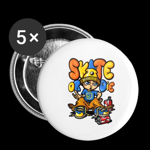 t-shirt enfant - Lot de 5 petits badges (25 mm)