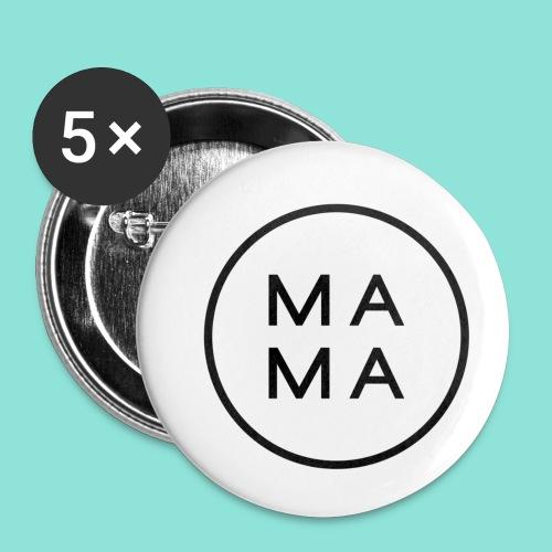 M A M A - Buttons klein 25 mm (5-pack)