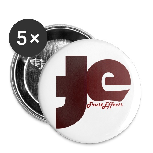 company logo - Buttons small 1''/25 mm (5-pack)