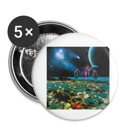 Child of the cosmos - Liten pin 25 mm (5-er pakke)