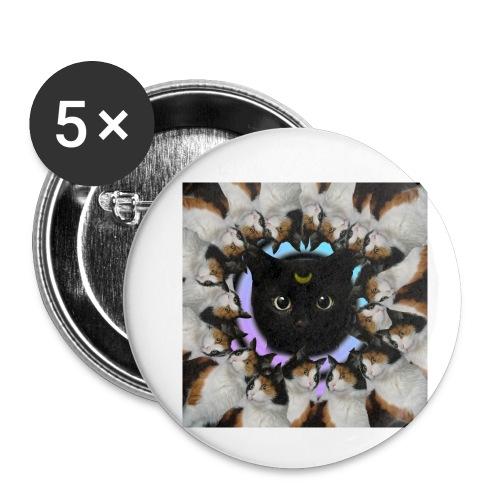 crazy catzzz - Liten pin 25 mm (5-er pakke)