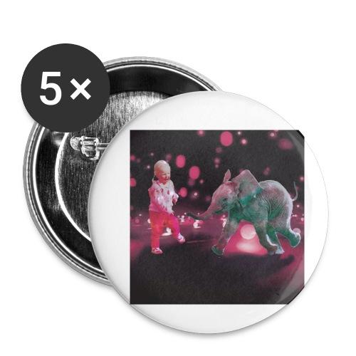 Dance Baby - Liten pin 25 mm (5-er pakke)
