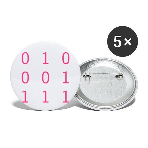Hacker Emblem - Buttons small 1''/25 mm (5-pack)