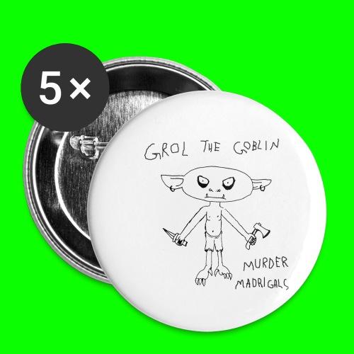 Murder Madrigals - Buttons small 1''/25 mm (5-pack)