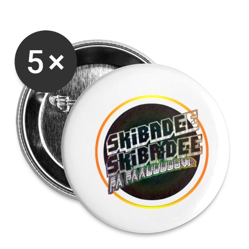Skibadee - Buttons klein 25 mm (5-pack)