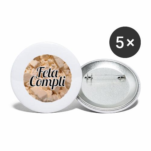 Feta Compli - Buttons klein 25 mm (5-pack)
