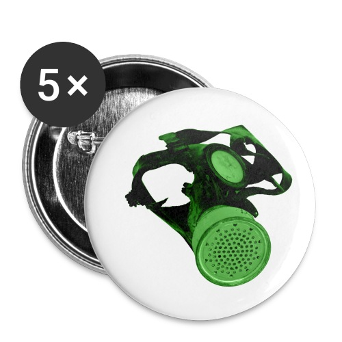 gas shield - Buttons small 1''/25 mm (5-pack)