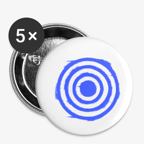 Shooting Target - Buttons small 1''/25 mm (5-pack)