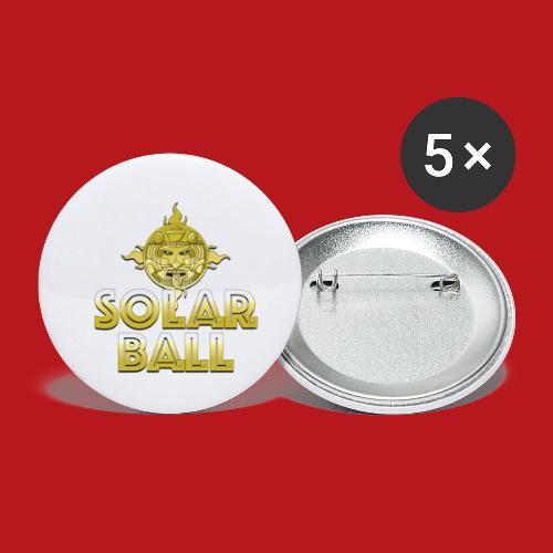 Solar Ball - Lot de 5 petits badges (25 mm)
