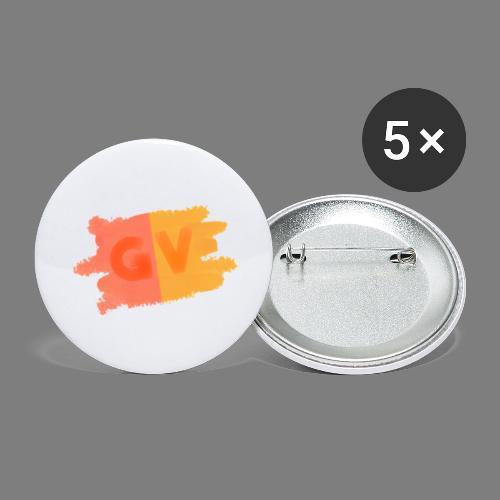 GekkeVincent - Buttons klein 25 mm (5-pack)
