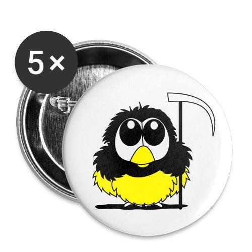 Küken Tod - Buttons klein 25 mm (5er Pack)