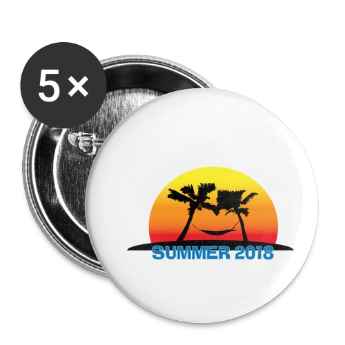 Summer Chill 2018 - Buttons klein 25 mm (5er Pack)