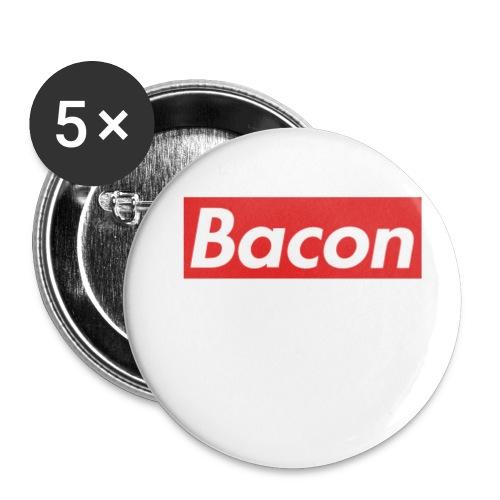 Bacon - Små knappar 25 mm (5-pack)